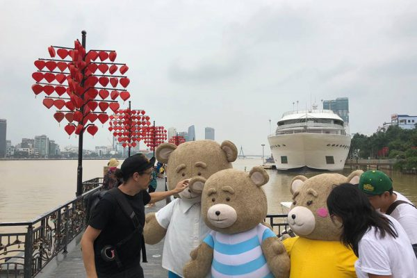 Traveloka Bear BTS 10